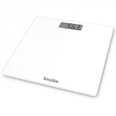 Pèse personne éléctronique blanc TX1000 max 18 kg, graduation 100g