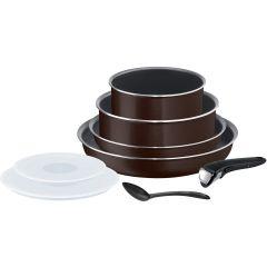Set de 8 pièces Ingenio Essential Black Coffee Tefal L2389202