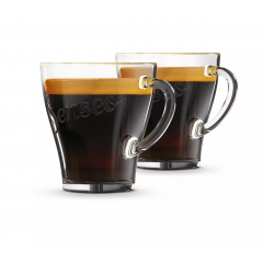 Lot de 2 tasses en verre Senseo