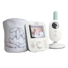 Coffret écoute-bébé vidéo + plaid Doudou & Cie Avent BUND_SCD620_PLAID