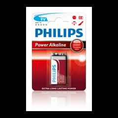 Philips PowerLife Batterie 6LR61P1B 9V alcaline
