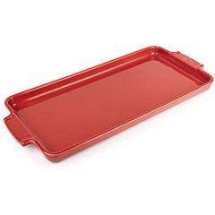 Plaque à mignardises et apéritifs 40cm rouge Peugeot Appolia 60725