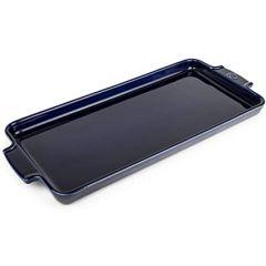 Plaque à mignardises et apéritifs 40cm bleue Peugeot Appolia 60732