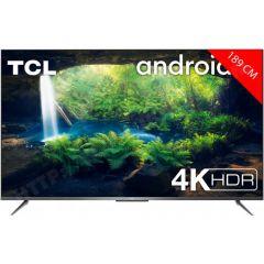 TV  LED 4K Smart TV 189 cm (75 pouces) TCL 75P716