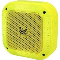 Enceinte nomade Bluetooth sport waterproof jaune Black Panther City B-SPLASHLIME