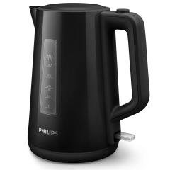 Bouilloire Plastique noire - 1,7L 2200 W - Philips - HD9318/20