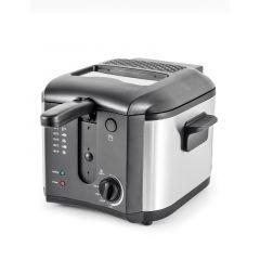 Friteuse 2.5L Kitchencook FR2020_INOX_BLACK
