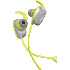 Ecouteurs sport gris intra-auriculaire sans fil - JVC- HAET65BVHE
