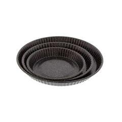 Lot de 3 moules à tarte anti adhérent Premium Pradel 52201