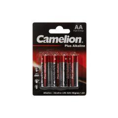 Lot de 4 piles AA 1,5 V Camelion LR6C