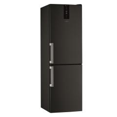 Réfrigérateur combiné noir 343L (239+104) - Whirlpool - W7831TKSH