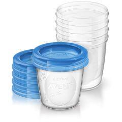 Pots de conservation pour le lait maternel Philips Avent SCF619/05