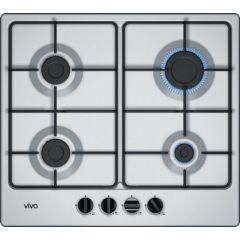 Table de cuisson à gaz 4 foyers Viva VVG6B3P50F