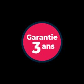 Extension de garantie + 3 ans - écran jusqu'à 299€