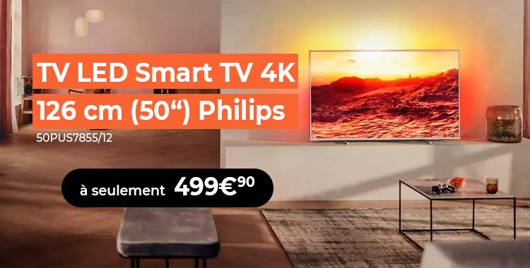 TV LED 4K Philips 50PUS7855/12