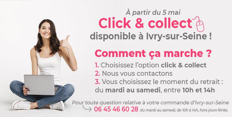 Click & Collect à Ivry-sur-Seine !