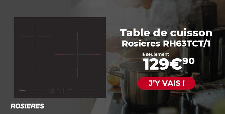 Table de cuisson Rosieres
