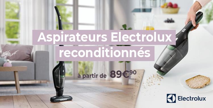 Aspirateurs Electrolux reconditionnés!