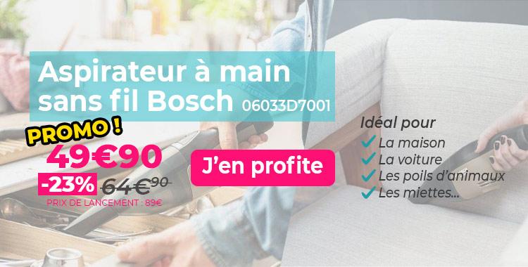 Aspirateur à main Bosch