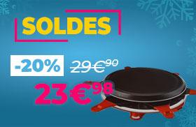 Appareil à raclette Moulinex Vivalp en soldes !
