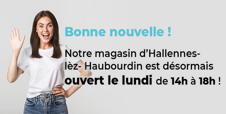 Ouverture le lundi à Lille !
