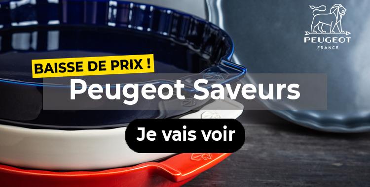Baisse de prix Peugeot Saveurs